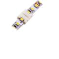 Đầu nối thẳng cho led dây đơn sắc (8mm),  2 Pins