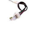 Đầu nối có dây cho led dây đa sắc (10mm),  4 Pins