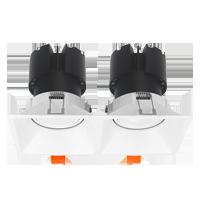 Đèn âm trần 2x15w mẫu F9