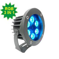 Đèn chiếu điểm 6W DMX mẫu B (điều khiển DMX512)