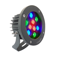 Đèn chiếu điểm 9W DMX mẫu B (điều khiển DMX512)