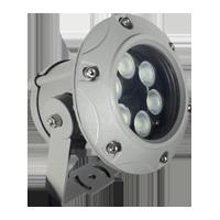 Đèn chiếu điểm 6W đa sắc mẫu C (đa sắc có điều khiển)