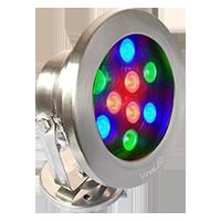 Đèn chiếu nước 9W  DMX mẫu C (điều khiển DMX512)
