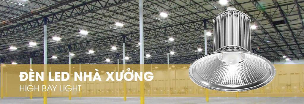 Đèn Led công nghiệp được dùng trong nhà xưởng